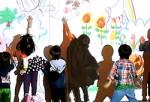 14.スクリーンに触れながら遊べて子どもは大喜び!